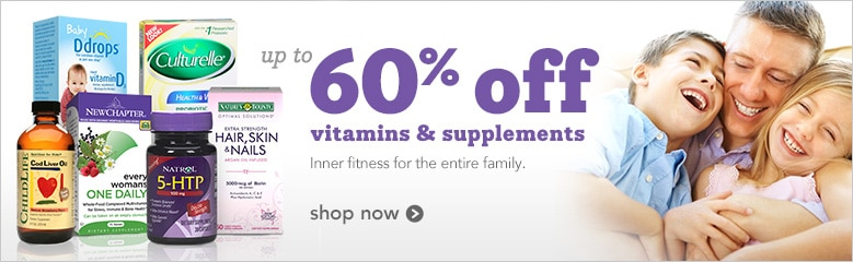 up to 60% off vitamins and supplements inner fitness for the entire family