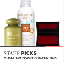 See our staff picks for essential travel items