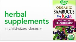 herbal supplements in child-sized doses