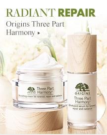 see Origins Three Part Harmony products