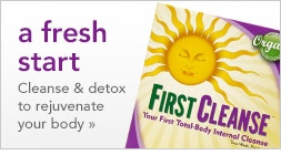 a fresh start. cleanse & detox to rejuvenate your body.