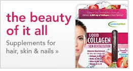 supplements for hair, skin & nails