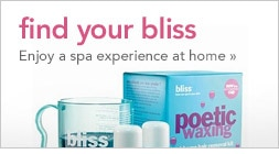 find your bliss | enjoy a spa experience at home