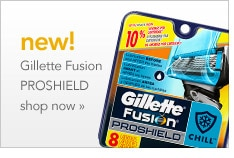 New! Gillette Fusion PROSHIELD