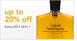 up to 20% off beautiful skin