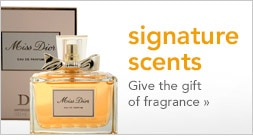 signature scents, give the gift of fragrance