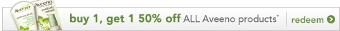 evens skin tone & texture | buy 1 Aveeno product, get 1 50% off, redeem now