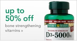 up to 50% off bone strengthening vitamins