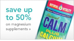 save up to 50% on magnesium supplements