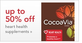 up to 50% off heart health supplements