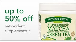 up to 50% off antioxidant supplements
