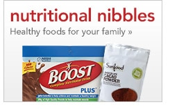 nutritional nibbles | healthy foods for your family