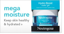 mega moisture, keep skin healthy & hydrated