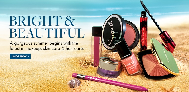 Shop for the latest makeup, skin care and hair care products