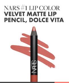 NARS #1 Lip Color | Velvet Matte Lip Pencil, Dolce Vita
