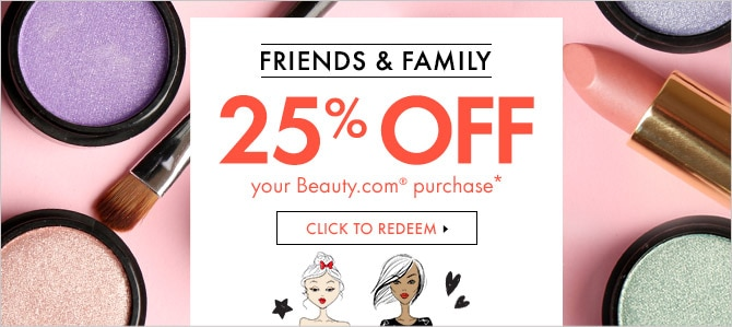 Extra 25% off beauty.com items, click to redeem