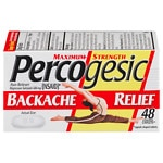 Percogesic Maximum Strength Backache Relief, Coated Caplets- 48 ea