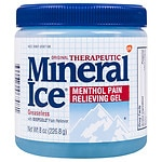 Mineral Ice Cool Greaseless Pain Reliever- 8 oz
