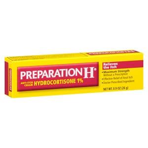 Preparation H Anti-Itch Cream with Hydrocortisone 1%- .9 oz