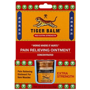 Tiger Balm Extra Strength Pain Relieving Ointment- .63 oz