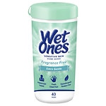 Wet Ones Sensitive Skin Hand Wipes, Extra Gentle, Fragrance &