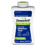 Zeasorb Super Absorbent Powder Antifungal Treatment, Athlete's