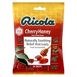 Ricola Natural Herb Cough Drops, Cherry Honey