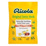 Ricola Cough Suppressant Throat Drops, Sugar Free, Original Swiss Herb