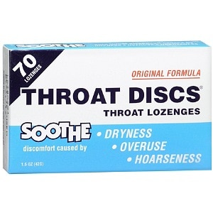 Throat Discs Original Formula Throat Lozenges