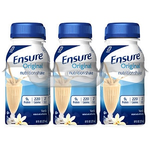 Ensure Nutrition Shake, Vanilla, 6 pk