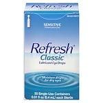 Refresh Classic, Lubricant Eye Drops- 50 ea