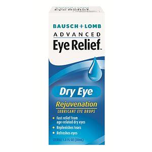 Advanced Eye Relief Lubricant Eye Drops, Dry Eye, Rejuvenation- 1 fl oz