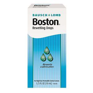 Boston Rewetting Drops- .33 oz