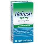 Refresh Tears Lubricant Eye Drops- .5 fl oz