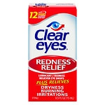 Clear eyes Redness Relief Eye Drops- .5 fl oz