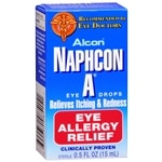 Naphcon-A Allergy Relief Eye Drops- .5 fl oz