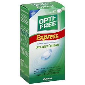 Opti-Free Express, Lasting Comfort No Rub, Multi-Purpose Disinfecting Solution