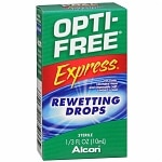 Opti-Free Express Rewetting Drops- .33 fl oz