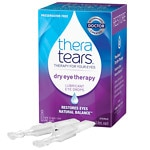 TheraTears Lubricant Eye Drops, Single-Use Containers- .06 oz