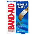 Band-Aid Flexible Fabric Bandages, 3/4 Inch