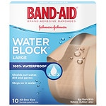 Band-Aid Water Block Plus Adhesive Bandages, 2 in x 3 in