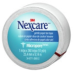 Nexcare First Aid Tape, Micropore Paper, 1 in. x 360 in.- 1 ea