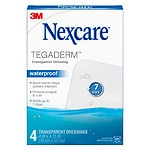 Nexcare Tegaderm Transparent Dressing, 4 in. x 4 3/4 in.
