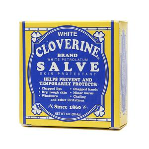 White Cloverine White Petrolatum Salve- 1 oz