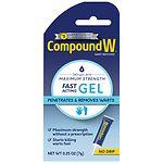 Compound W Wart Remover Gel- .25 oz