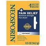 Neosporin Plus Pain Relief, Maximum Strength, First Aid