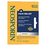 Neosporin Plus Pain Relief, Maximum Strength First Aid Antibiotic/Pain Relieving Ointment- 1 oz