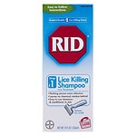 RID Step 1 Lice Killing Shampoo- 8 fl oz