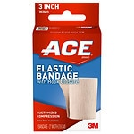 Ace Elastic Bandage with Hook Closure, Model 207603, 3 inches