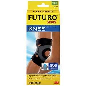 FUTURO Sport Moisture Control Knee Support, Medium